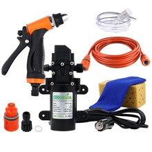 Pistolet de lavage de voiture, pompe 12v, nettoyage à haute pression, accessoires de nettoyage pour le lavage de voiture, soins
