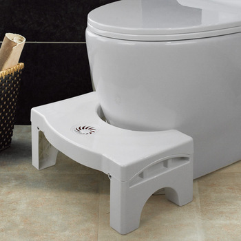 Squatty Toliet Step Stool Children Adult WC Non Slip Potty Squat Aid For Constipation Piles Relief Heighten