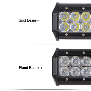 """Image 2 - Xuanba 12 """"72ワット28"""" 180ワットledライトバーのための4 × 4オフロードトラックsuv atvボート車4WD 12v 24vコンボビームled作業オフロードバーライト"""