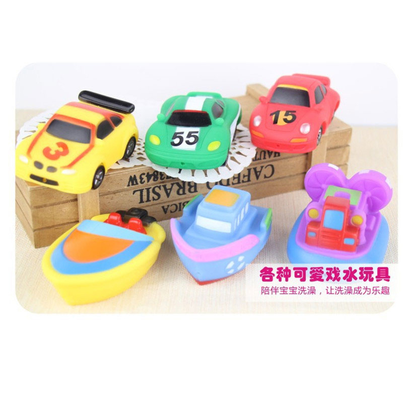 6 Pcs/lot High Quality Water Spraying Boat Toy Children\'s Toys in ...