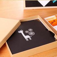 NEW Retro DIY Scrapbook Photo Album Weeding Travel Baby Album Craft Handmade Craft Paper Wedding Memory Photo Album 30 Pages