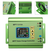 LCD Display MPT 7210A MPPT Solar Panel Charge Controller 24 36 48 60 72V Boost For