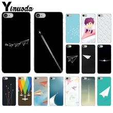 Travel the world paper plane aircraft Smart Cover Transparent Soft Shell Phone Case for iPhone 8 7 6 6S Plus 5 5S SE XR X XS MAX yinuoda travel the world paper plane aircraft novelty fundas phone case cover for apple iphone 8 7 6 6s plus x xs max 5 5s se xr
