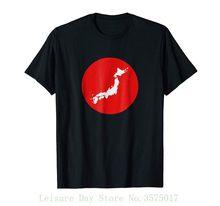 55c41df1e84f1d Japanese Map Design T-shirt 100% Cotton T Shirts Brand Clothing Tops Tees(