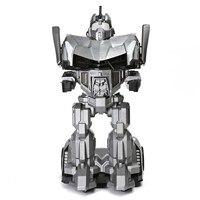 Пульт дистанционного управления на гуманоидном робот автомобиль игрушка подвижный трансформер автомобиль с роботом шлем для детей Детски