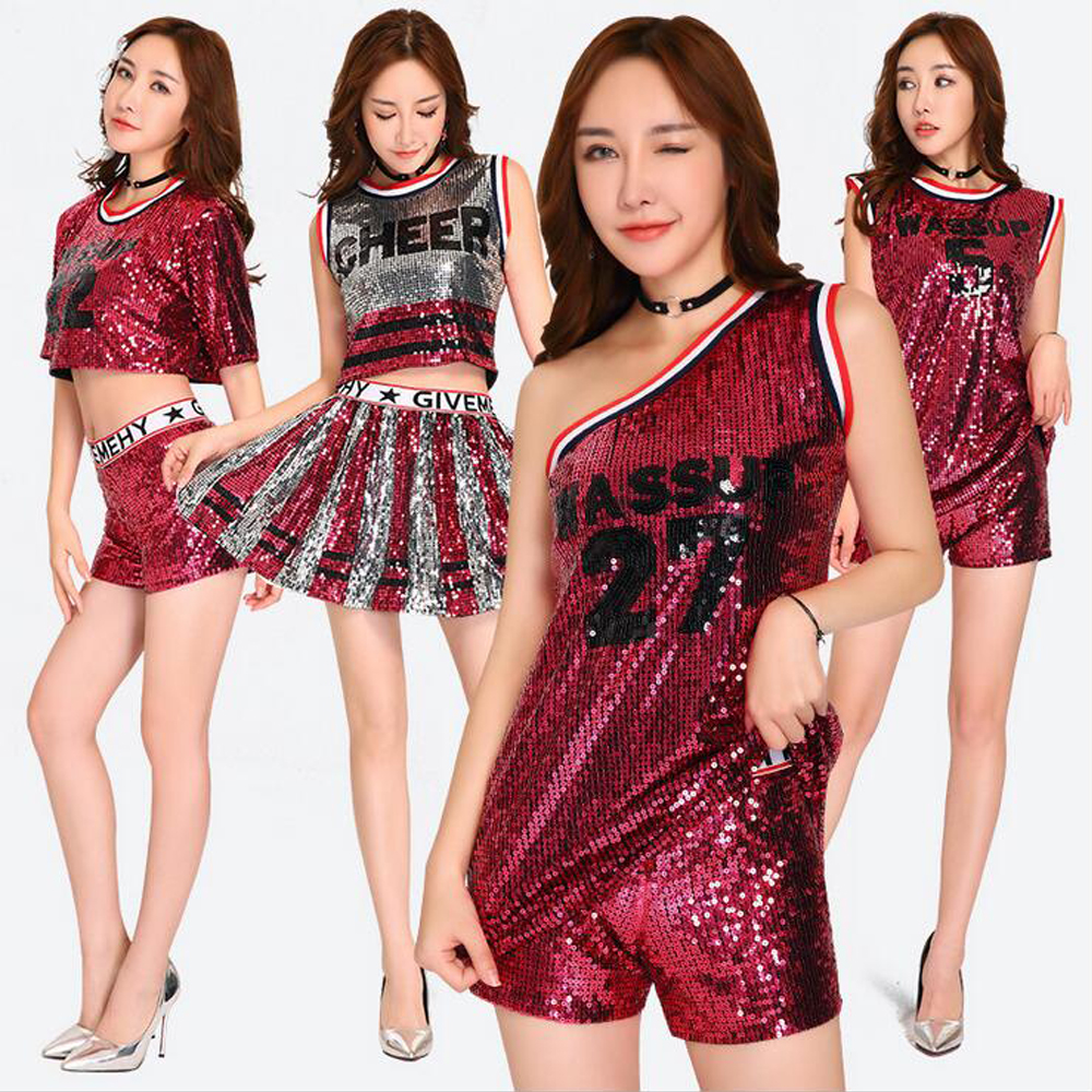 fa9c6525f Detail Feedback Questions about Red Women s Jazz Costumes Hip hop ...