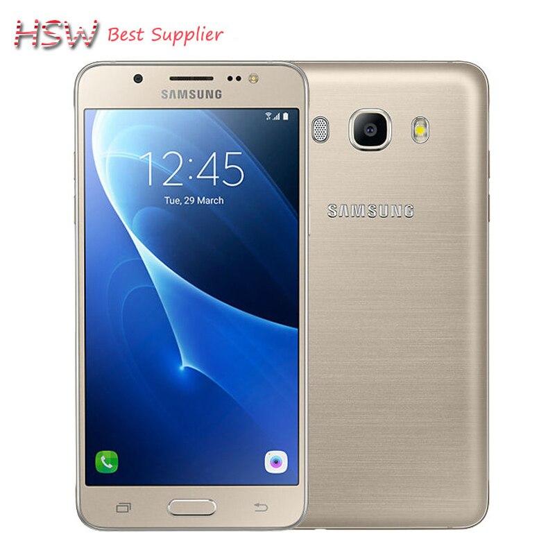 "bilder für Original Samsung Galaxy 2016 J5 J5108 4G LTE Snapdragon 410 Quad Core Dual SIM Smartphone 5,2 ""13.0MP NFC handy"