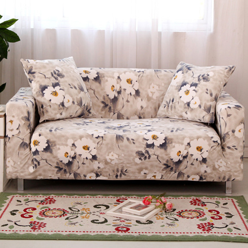 Modern four seasons universal stretch sofa covers for Universal sectional sofa slipcovers