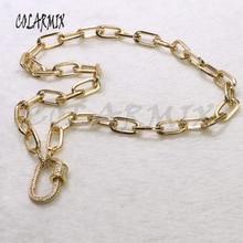 Комплект из 3 предметов,, циркон ожерелье, подвеска из золота цвет металлическое ожерелье с подвеской высокого качества ювелирных изделий цепи necklace3517