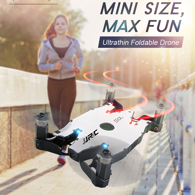 JJRC H49WH Mini Drone SOL mini RC Drone Camera HD wifi FPV Pocket Selfie Drone Quadcopter RC Helicopter Dron Quad Micro Drone jjrc h33 mini drone rc quadcopter 6 axis rc helicopter quadrocopter rc drone one key return dron toys for children vs jjrc h31