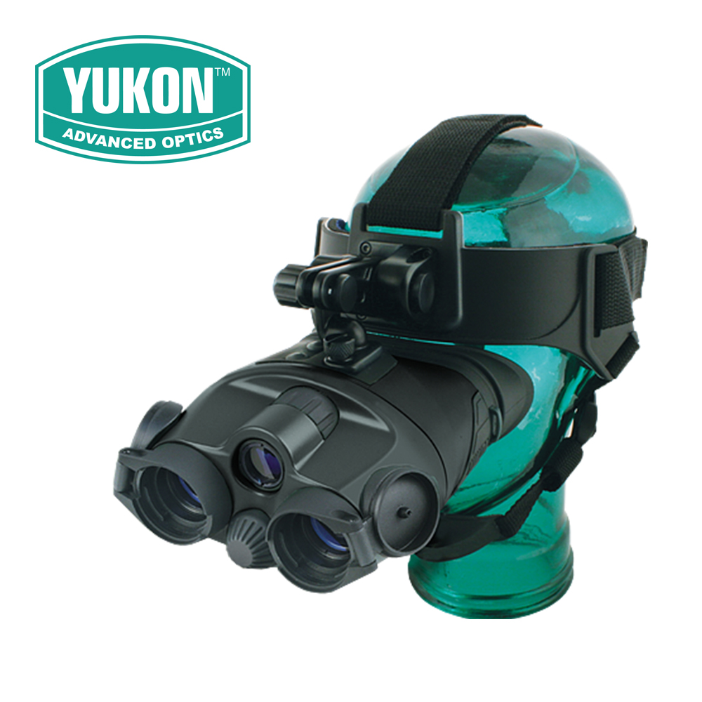 Yukon Tracker 1X24 Generation 1 Night Vision Binoculars Goggles NVMT Compact Head Mount for Hunting Tactical #25025 Black yukon nvb tracker rx 3 5x40 night vision hunting nightvision binocular binoculars optical sight riflescope with doubler