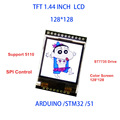 """5 В/3.3 В 1.44 """"TFT 1.44 дюймов ЖК-Дисплей Модуль 128*128 Цвет Скрин SPI Совместимый для Arduino mega2560/STM32/СКМ 51"""