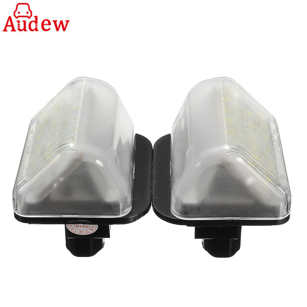 For Mazda CX-5 CX-7 Speed6 12V 2Pcs LED Car License Plate Light Lamp  White Number Plate Lamp Bulb smaart v 7 new license
