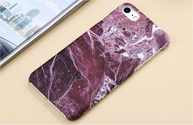 HTB1xD6oPFXXXXXfXpXXq6xXFXXXp - Marble Pattern Phone Case For iPhone 7 5 5s SE 6 6s Plus Smooth Hard Plastic Phone Back Cover Cases For iPhone7 Plus PTC 131