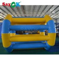 Весело надувной шар для катания детский надувной надувные игрушки для воды водяное колесо для бассейна или аквапарк Аренда с помощью