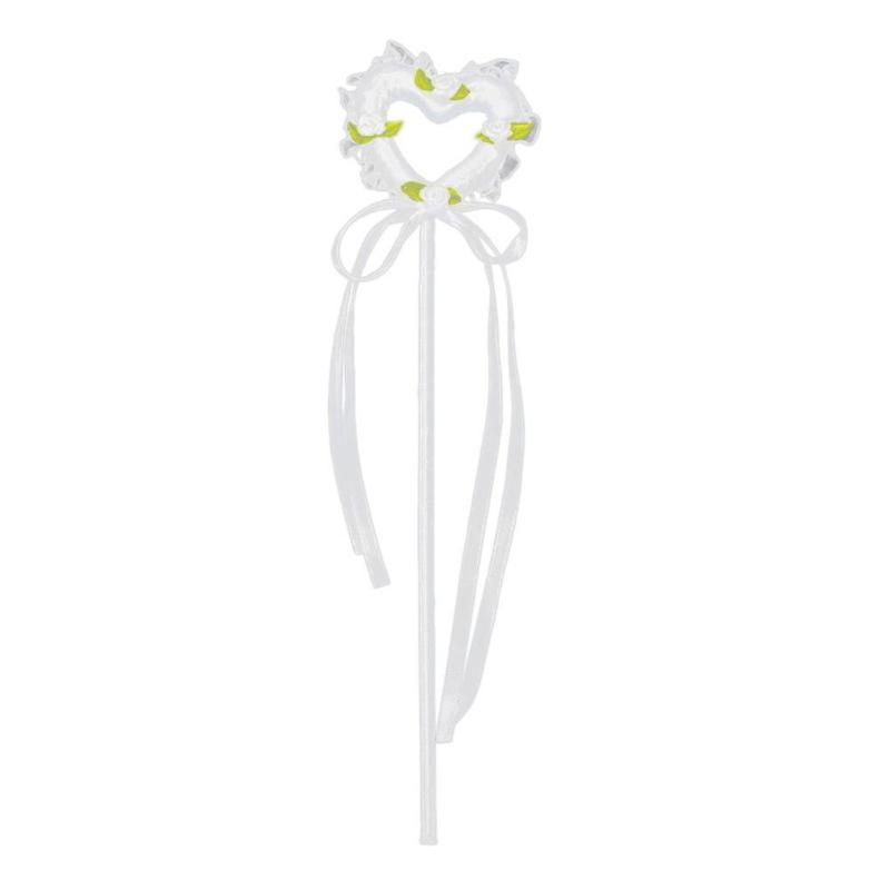 Hot Heart Shaped Fairy Wand Foam Magic Wand Walking Stick For Flower Girls Children Gifts Kid Toys Supplies