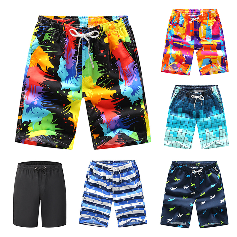 Men Swim   Shorts   Trunks Beach   Board   Swimming   Short   Swimwear Quick Drying   Shorts   Mens Running Sports Surffing   shorts   For Men