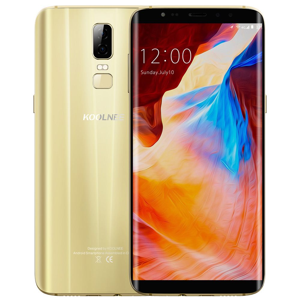 KOOLNEE K1 4G Phablet Android 7.0 6,01 zoll MTK6750T Octa Core 1,5 GHz 4 GB RAM 64 GB ROM 16.0MP Kamera Volle bildschirm