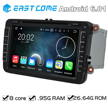 Octa Core 2 Din Android 6.01 Car DVD Automotivo For VW Multivan T5 (2010 to 2013) New Bettle 2 (2011 to 2013) SEAT Altea Radio