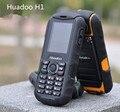 Huadoo H1 Phone IP68 Waterproof Shockproof Dustproof Mobile phone Outdoor Senior Old Man 2SIM phone 2000mAH 0.3MP No Smart Phone