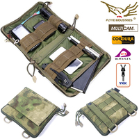 FLYYE MOLLE Low Profile OP Pouch Organizer 1000D Nylon Tactical Bag Outdoor Military Waist Fanny Pack Aisoft Sport Pouch PH C029