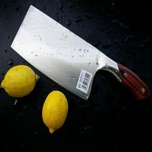 Kostenloser versand Senior edelstahl holzgriff hacken knochenmesser schneidwerkzeug Schneiden dual-zweck messer küchenmesser