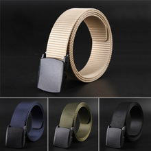 Automatic Buckle Nylon Belt Male Army Tactical Belt Mens Mil