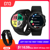 Zeblaze Тор 4 4G S LTE gps Wi Fi Android Смарт часы Flapship 1 ГБ + ГБ 16 5MP камера фитнес трекер Smartwatch наручные