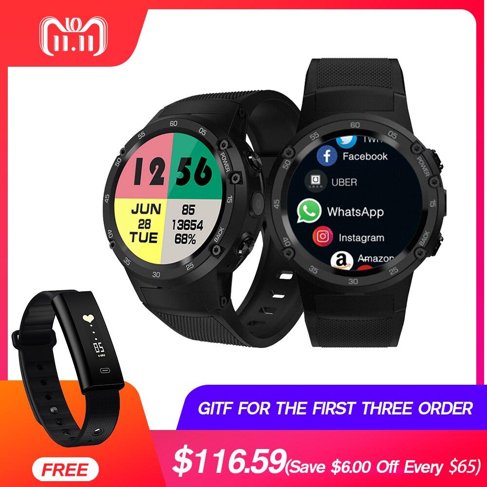 Zeblaze Thor 4 4g 4S LTE GPS WiFi del Android Astuto Della Vigilanza Flapship 1 gb + 16 gb 5MP Macchina Fotografica per il fitness Tracker Smartwatch Orologio Da Polso