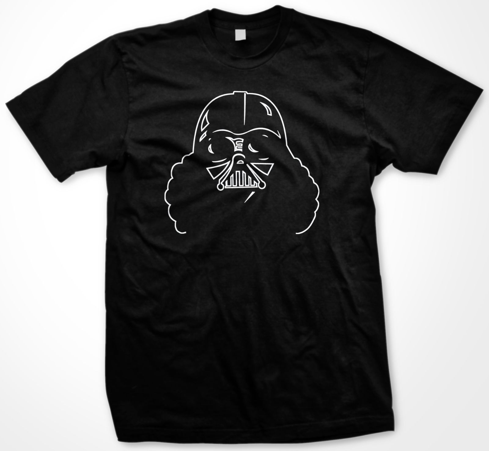 Star Wars Darth Vader Afro Funny T Shirt Free shipping Harajuku Tops Fashion Classic Unique in T Shirts from Men 39 s Clothing