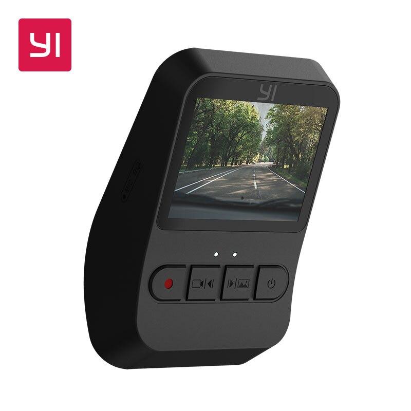 YI Mini Dash Cam Full HD 1080p мини-автомобильная камера 2,0 ЖК-экран широкий угол встроенный g-сенсор ночное видение Парковка Мониторинг