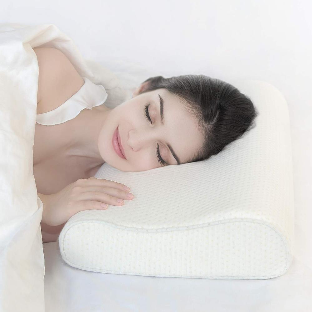Memory Foam Pillow Sleeping Bed Pillows Contour Orthopedic