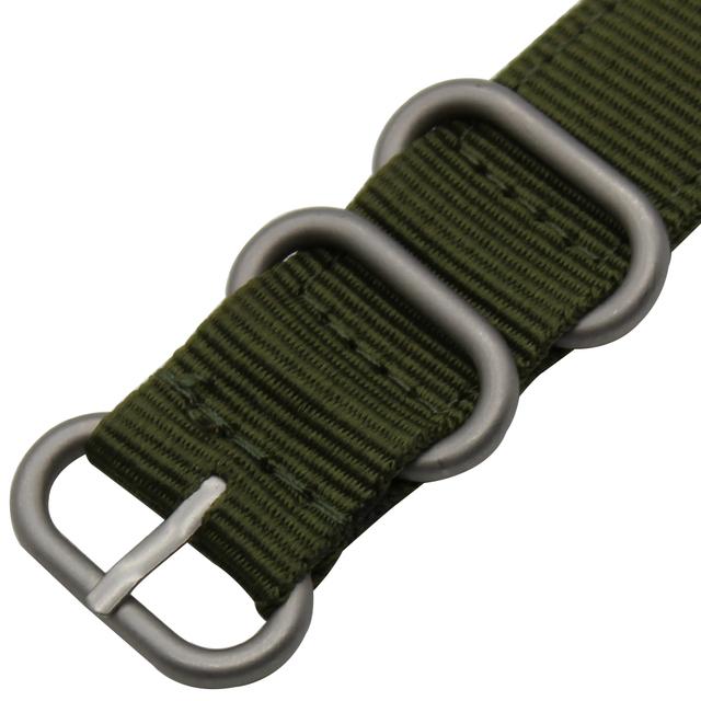 24mm Nylon Watchband for Suunto TRAVERSE Watch Band Zulu Strap Fabric Wrist Belt Bracelet Black Blue Brown + Tool + Spring Bars
