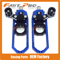 Motorcycle Chain Adjusters Tensioners With Spool For YAMAHA YZFR1 YZF R1 YZF R1 2006 06 Motocross