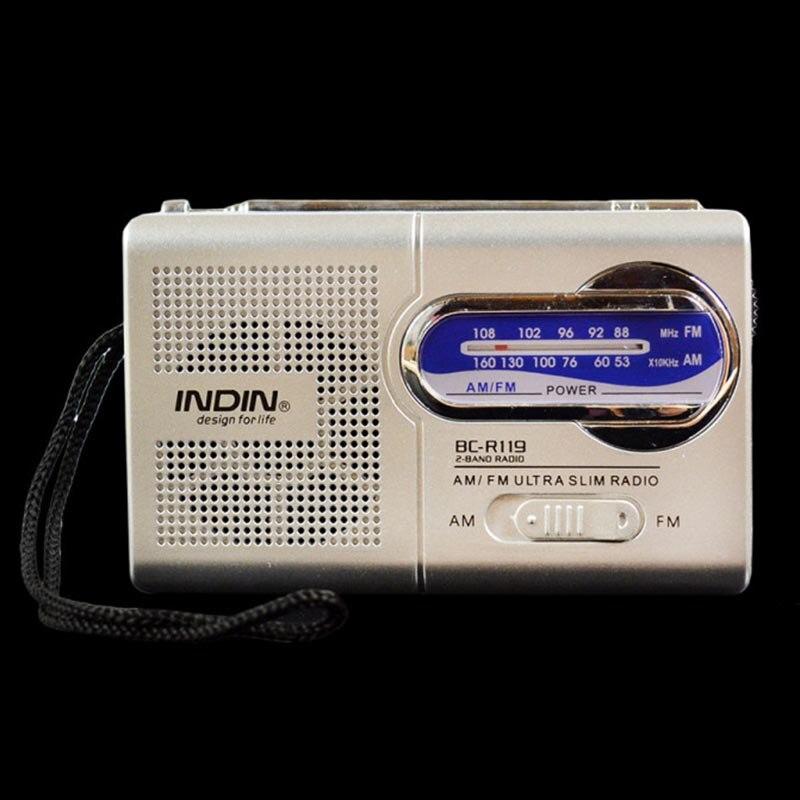 Tragbares Audio & Video Stetig Bc-r119 Tragbare Mini Radio Empfänger Multi-funktion Am/fm Radio Welt Empfänger 2-band Lautsprecher Musik Mp3 Radio Empfänger Waren Jeder Beschreibung Sind VerfüGbar