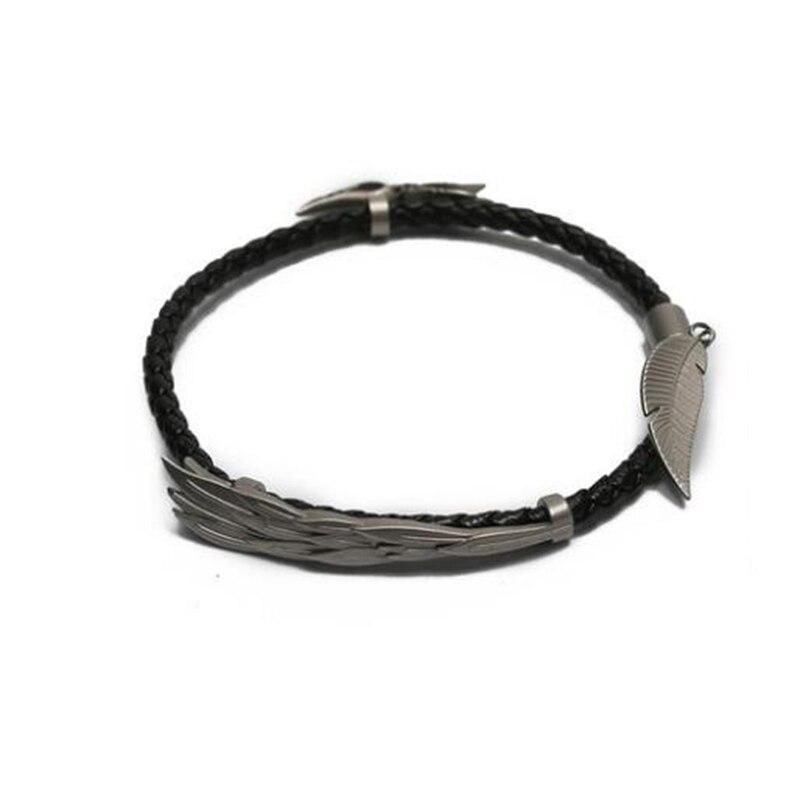 LoL ювелирные изделия, браслет Rakan и Xayah, серебро 925, очаровательные браслеты для женщин и мужчин, подарок на день Святого Валентина, рождественский подарок, бесплатный подарок - 3