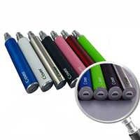 Koniczyna 2600mAh bateria do e-papierosa USB Passthrough E papierosowy waporyzator koniczyna korzeń 510 wątek VS ego-t bateria