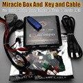 Livre o navio Original caixa + chave Milagre Milagre com cabos (2.38A atualização quente) para china mobile phones Desbloqueio + reparação desbloquear