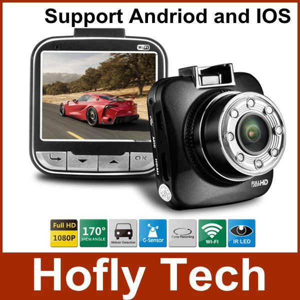 Original Blackview Novatek 96650 Car Camera G55 With Wifi Car DVR Full HD 1080P IR Night Vision Dacshcam Support Android xycing car dvr 360 degree rotating suction cup bracket car holder 3 pin connector for g50 g55 g52d gs52d car dvr camera
