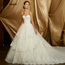 HIRE LNYER Vestido De Noiva 2019 Ball Gown Wedding Dresses