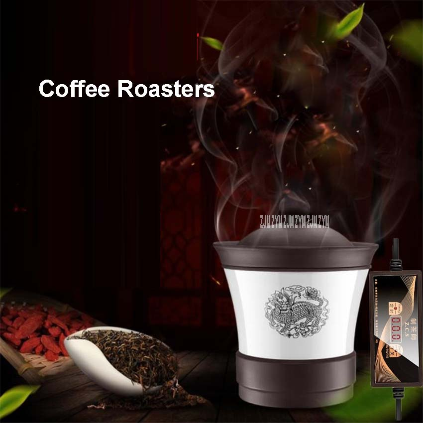 120 W /220 V Mini Ceramic Heater Coffee Maker Herbal Tea Dry Food Swirling To Heat Coffee Chic Tea or Herbs Dry Food 20-50g wholesale dual dutch piece suit yixing tea tray ceramic ru ding black dragon tea