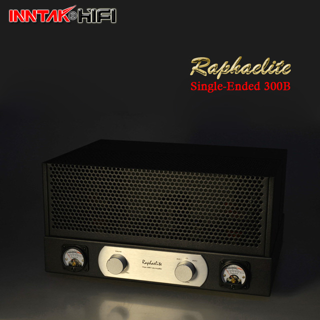 US $588 98 |Recommend Entry level Raphaelite Single Ended 300B Tube  Amplifier / Class A Stereo Triode Tube Amplifier 8W*2 -in Amplifier from  Consumer