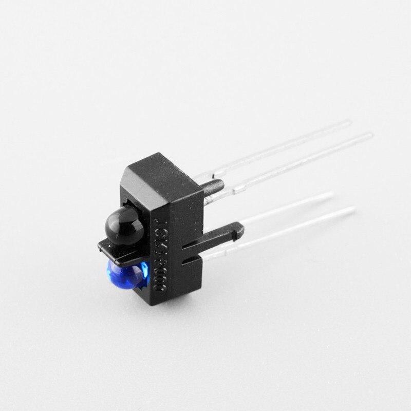 10 шт. датчик ик датчики переключатель де corrente tcrt5000 датчик инфракрасный ик motion 4 контакты светоотражающие оптический фотоэлектрический модуль