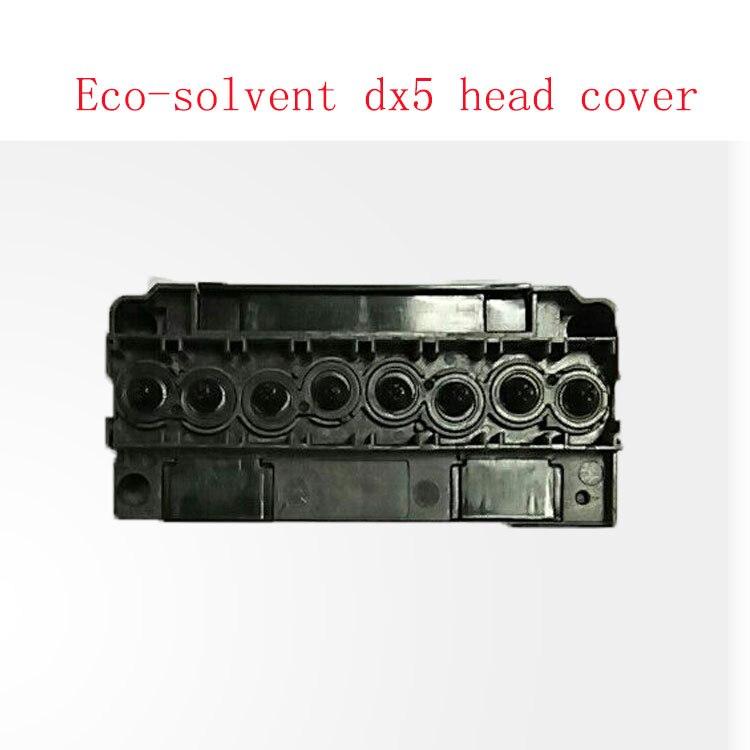 Frete grátis!! xuli eco-solvente dx5 head cover para allwin humano galaxy colector dx5 da cabeça de impressão de impressora por atacado