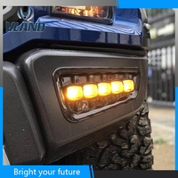 2Pcs DRL LED Daytime Running Lights For Ford Raptor SVT F150 2016 2018 Turn Signal Yellow light Fog Lamp