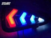 New product 2pcs Car Coloured nightlight LED for Toyota Camry 2015 fog lamp car leading light led drl DRL Daytime running light