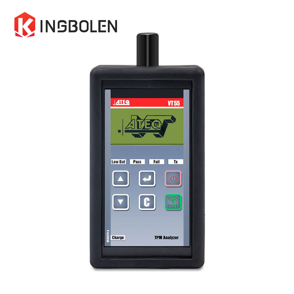 Цена за Ateq VT55 автомобильных шин давления Датчик OBD II инструмент диагностики активации и декодировать tpms датчиков и отображения данных или недостатки