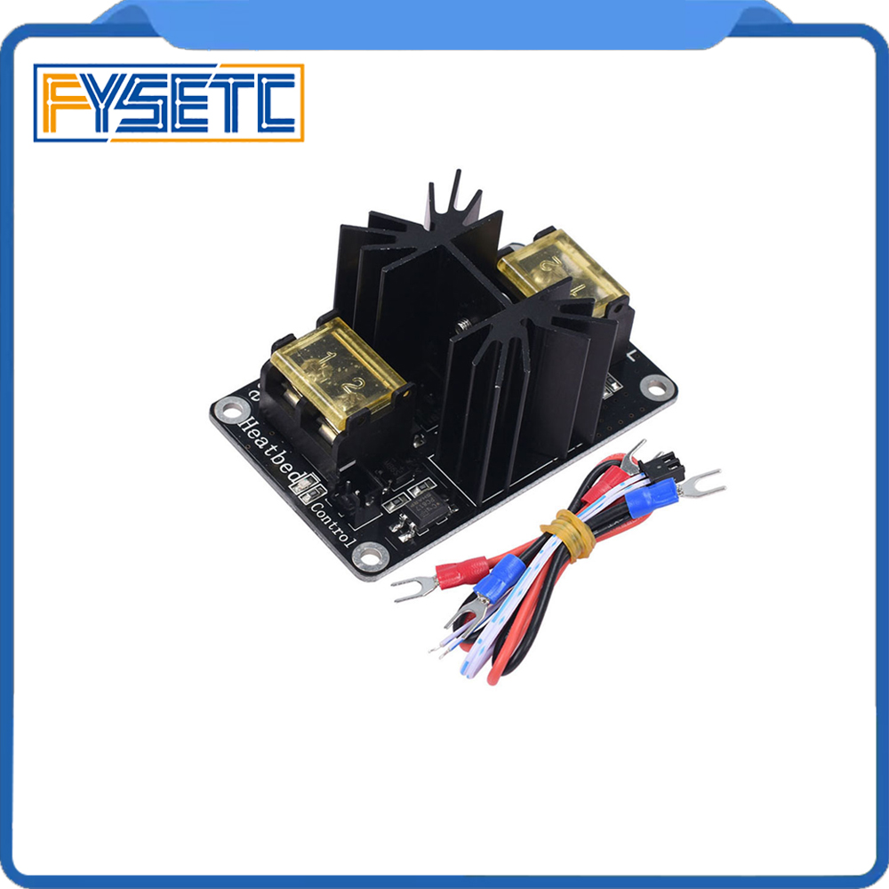 Add-on Heated Bed Power Expansion Module Hot Bed Module High Power Module MOS Tube For Anet A8 A6 A2 / Ramps 1.4 / Lerdge