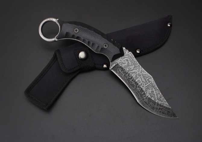Buy Fine S020B Tactical Fixed Knives,5Cr13Mov Blade Hunting Knife,Camping Survival Knife. cheap