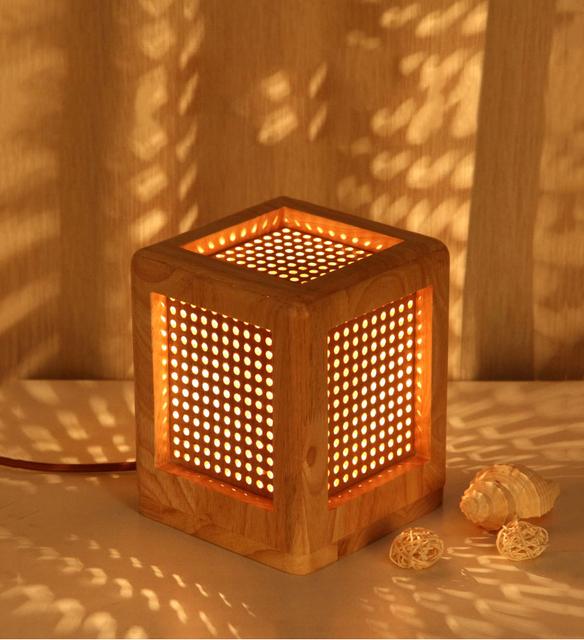 Estilo chino de la lámpara cuadrada lámpara de escritorio caliente y elegante sala de estar lámparas de escritorio dormitorio de la lámpara de los niños de la salud visual